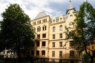 Многокомнатная квартира в историческом центре Риги (Латвия) (1)