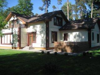 Дом-новостройка в Юрмале (Дзинтари) (1)