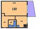 1-комнатная квартира, метро Отрадное (5)